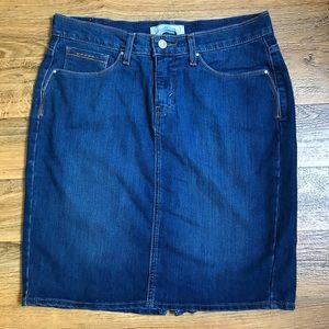Levi's Denim Skirt Vintage Look Stud Details